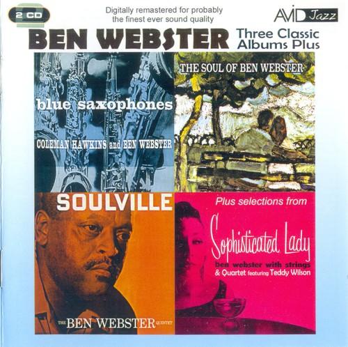 (Hard Bop, Cool) [CD] Ben Webster - Three Classic Albums Plus - 2011 (AVID), FLAC (tracks+.cue), lossless